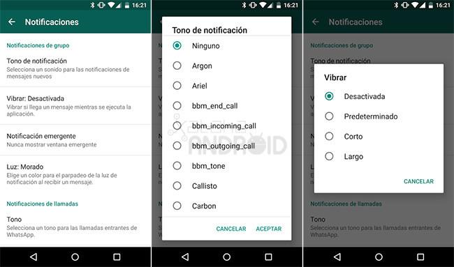 Cómo silenciar los grupos de WhatsApp