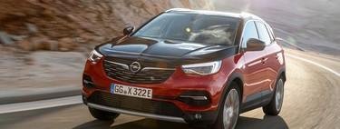 Probamos el Opel Grandland X Hybrid4: el primer coche híbrido enchufable de Opel es un muy confortable SUV de 300 CV