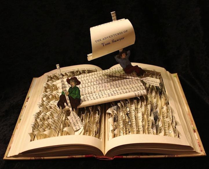 Foto de Esculturas en libros (4/5)