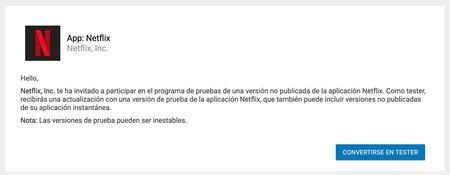 Netflix Beta