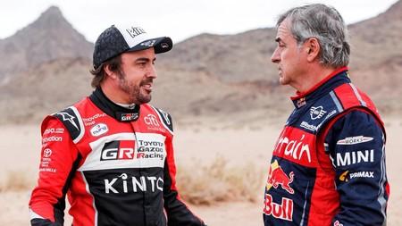Alonso Carlos Sainz Dakar 2020