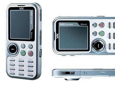 VK2200, teléfono con cámara de 4 Megapixeles