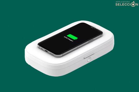 Recarga tu iPhone y desinfecta la mascarilla con el esterilizador UV Belkin Boost Charge por 34 euros en Macnificos