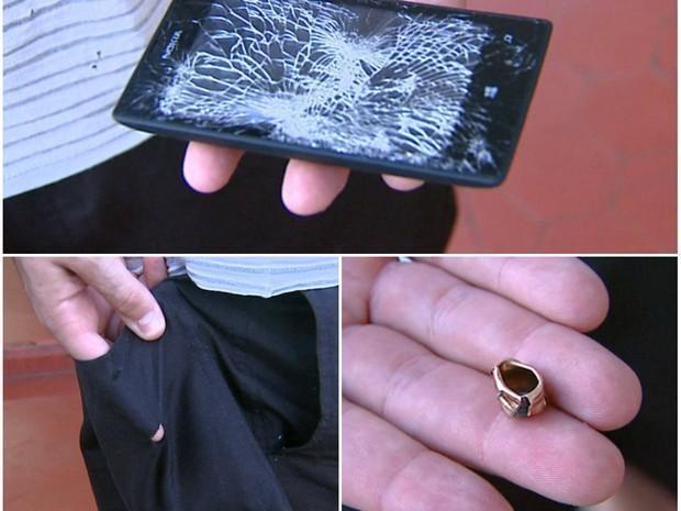 El Nokia Lumia 520 que detuvo una bala, la imagen de la semana