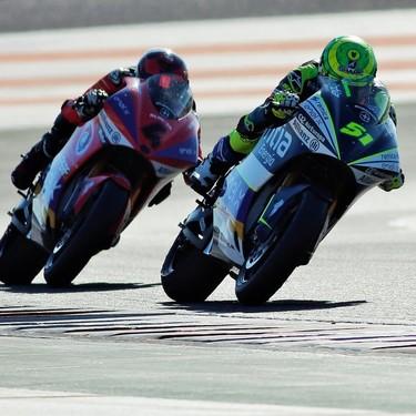 Eric Granado gana la carrera de prueba de MotoE pero el protagonismo es para el sonido de las motos eléctricas