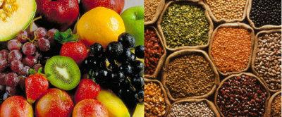 Pierde un 6% de peso comiendo frutas y legumbres