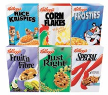 Kellogg´s retira los anuncios que no cumplen los criterios de la comida sana