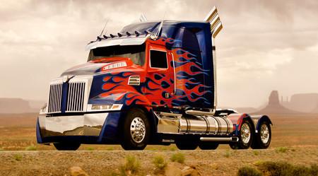 Camión Western Star (Optimus Prime)