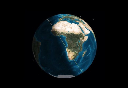 Esta es la órbita de la ISS