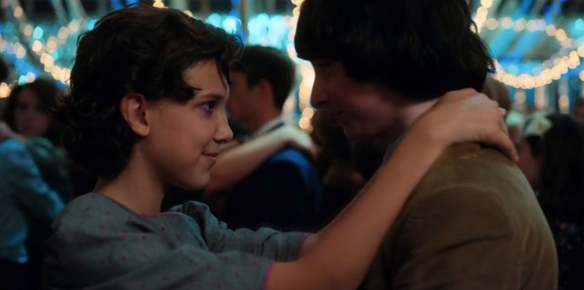 Eleven Y Mike Strnger Things