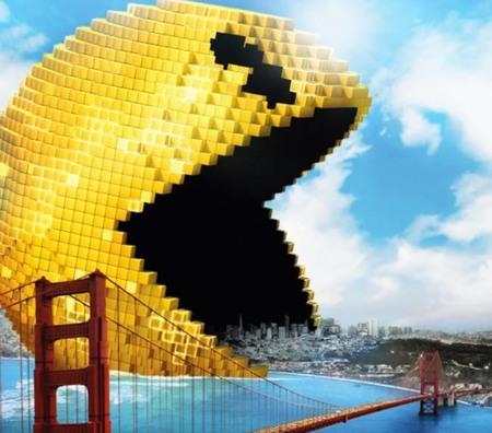 Adam Sandler contra Pac-Man y Donkey Kong en el tráiler de la película Pixels