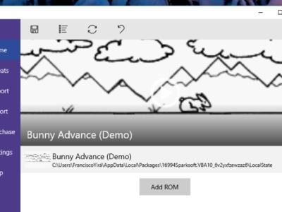 Windows 10 ya cuenta con un emulador de Gameboy Advance