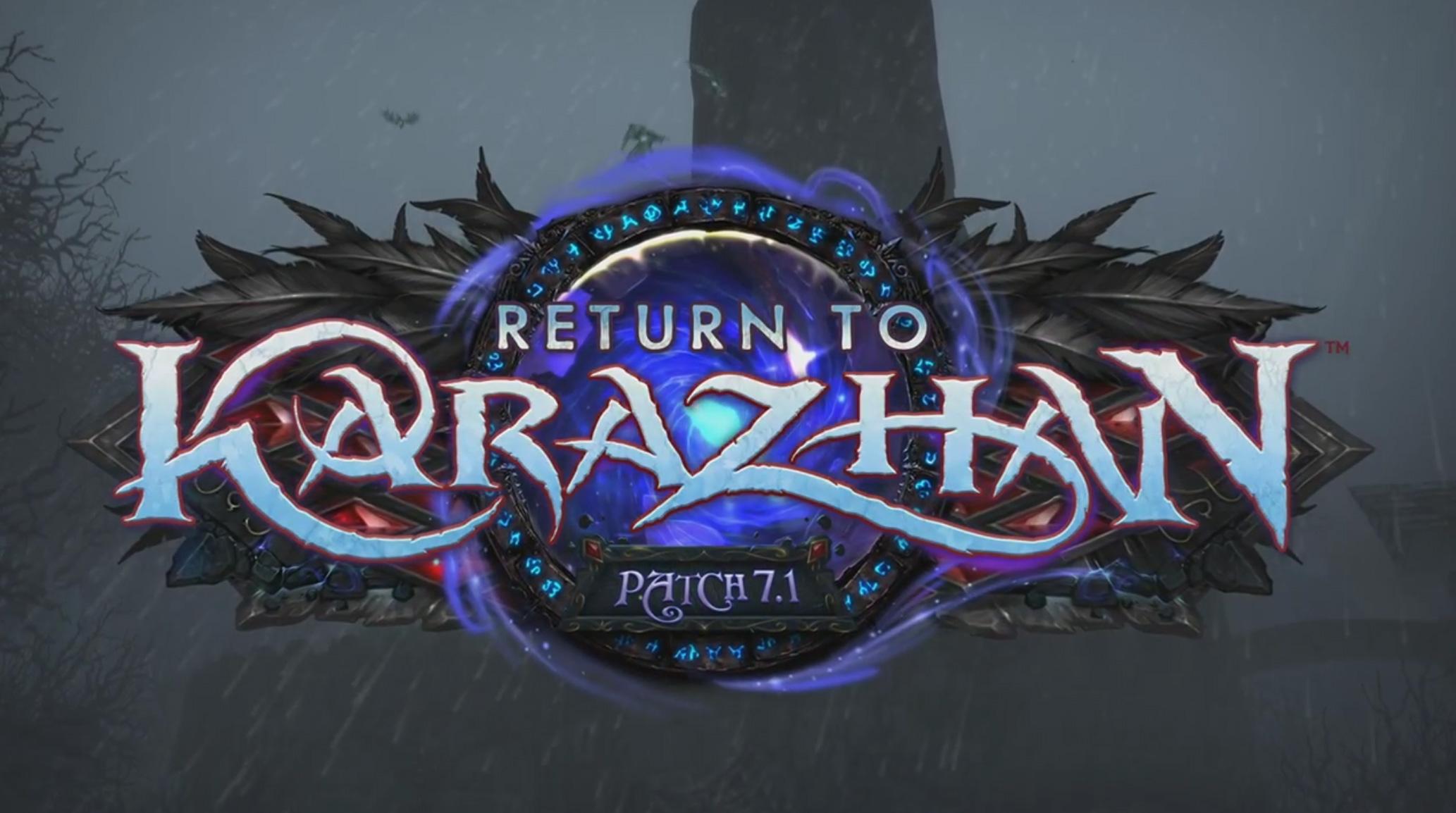 World of Warcraft: Legion nos llevará de vuelta a Karazhan con su parche 7.1 [GC 2016]