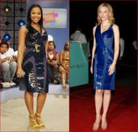 Vestido de Balenciaga: quién lo lleva mejor ¿Ashanti o Cate Blanchett?