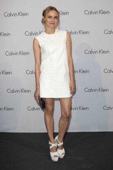 Todas las invitadas a la fiesta de Calvin Klein con Diane Kruger y Zoe Saldana brillando
