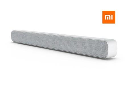 Barra de sonido Xiaomi TV Soundbar, con conectividad Bluetooth, por sólo 71 euros y envío gratis
