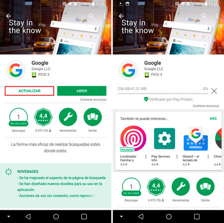 Set up Ok Google on Android