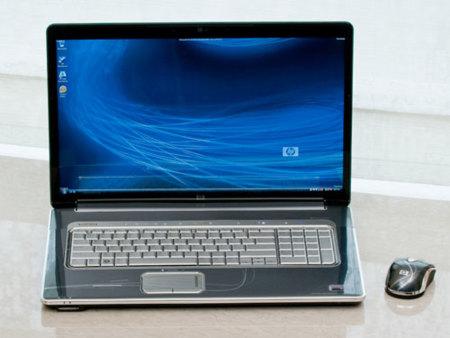 Portátiles HP HDX con formato de pantalla 16:9