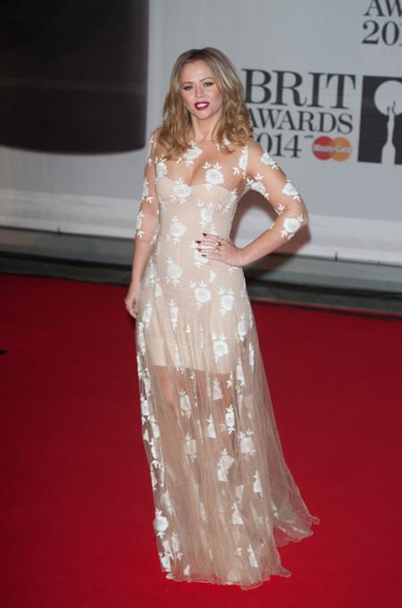 Kimberley Walsh Brit Awards 2014