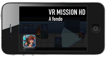 VR Mission HD, la acción y el sigilo llegan a iOS. A fondo
