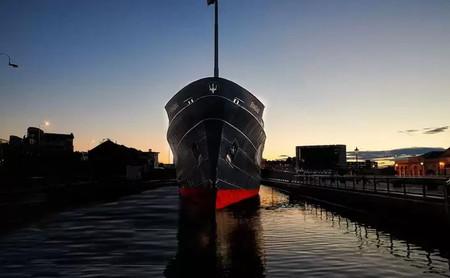 Fingal, un barco lujo donde hospedarse en Edimburgo sin hacerse a la mar