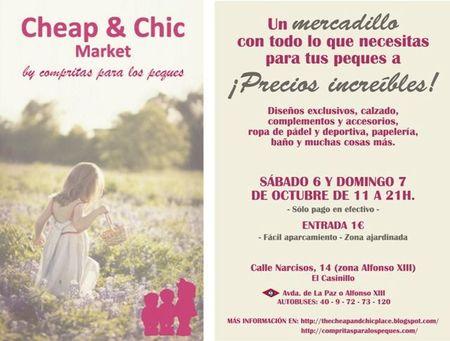 Mercadillo Cheap&Chic en Madrid este fin de semana