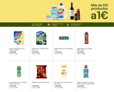 Vuelven los miniprecios de eBay con más de 100 artículos a 1 euro