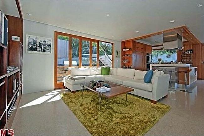 El salón de Kevin Bacon