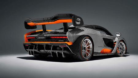 McLaren Senna LEGO, a tamaño real