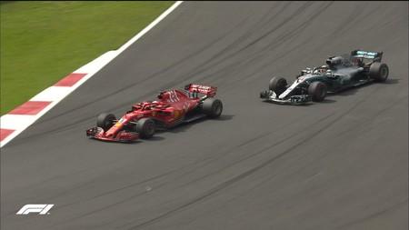 Hamilton Vettel Mexico