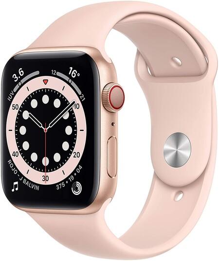 Apple Watch Series 8 color rosa con descuento en Amazon México por Hot Sale 2021