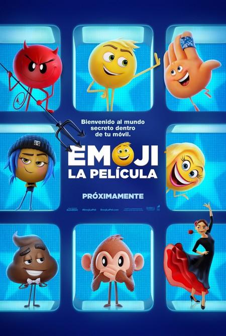 Cartel de Emoji la película