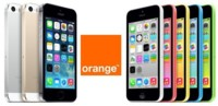 iPhone 5c y iPhone 5s: tarifas y precios con Orange