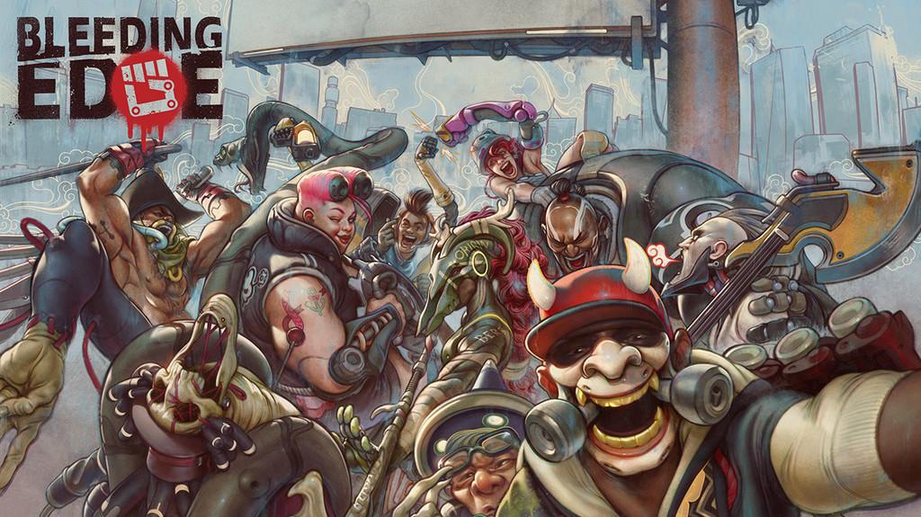 Análisis de Bleeding Edge, el caótico salto de Ninja Theory al competitivo dónde ningún jugador es tan bueno como todos juntos