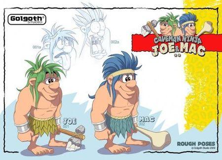 'Joe & Mac' también regresará en HD gracias a Golgoth Studio, y aún hay más...