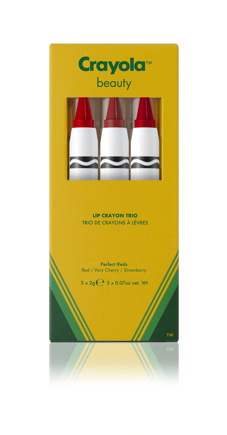 Crayola Trios Carton Perfect Reds