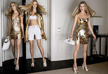 Versace sigue con las tops models esta primavera-verano