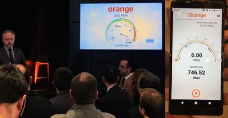 Orange Logra Nuevos Record De Velocidad En Redes Moviles Y De Fibra
