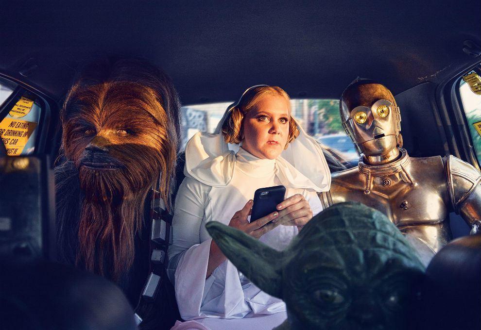 Foto de El homenaje de Amy Schumer a Star Wars (4/7)