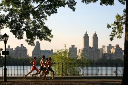 Corriendo por Central Park
