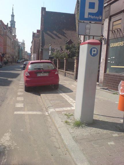 Aparcando en Poznan