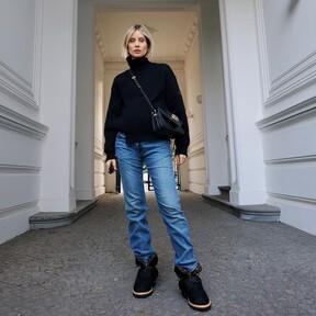 Ya sea en la nieve o bajo el sol de invierno, las nuevas botas de Louis Vuitton prometen ser el hit de la temporada