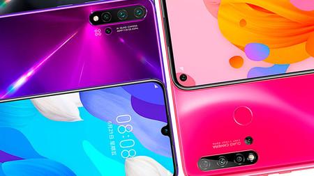 Huawei Nova 5i, Nova 5 y Nova 5 Pro: todas las diferencias de la nueva serie de Huawei
