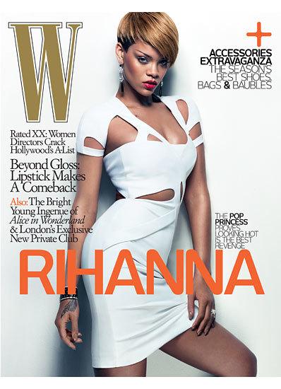 Rihanna se vuelve a destapar en W Magazine