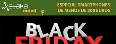 Las mejores ofertas del Black Friday en smartphones por menos de 200 euros
