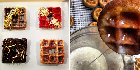 Llega el wonut, la fusión de donut y gofre