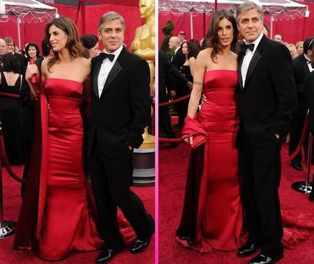 George Clooney y su novia Elisabetta Canalis