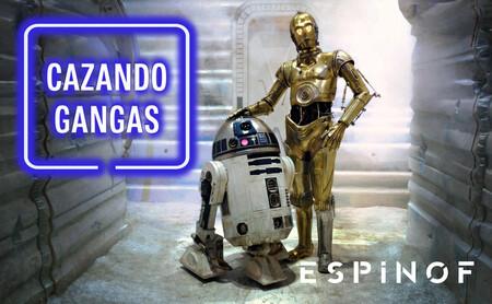 Figura de C-3PO, steelbook de la saga 'Harry Potter' y la serie completa de 'Frasier' en nuestro Cazando Gangas del día del padre