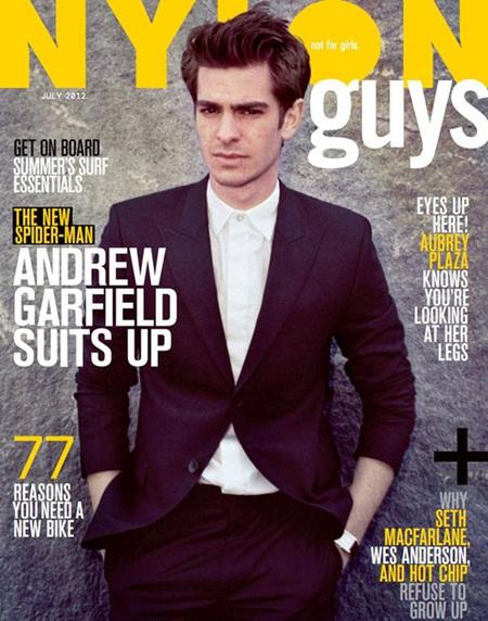 Andrew Garfield, Nylon Guys July 201