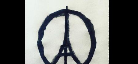 Peace for Paris, Jean Jullien convierte su dibujo en un símbolo. La imagen de la semana